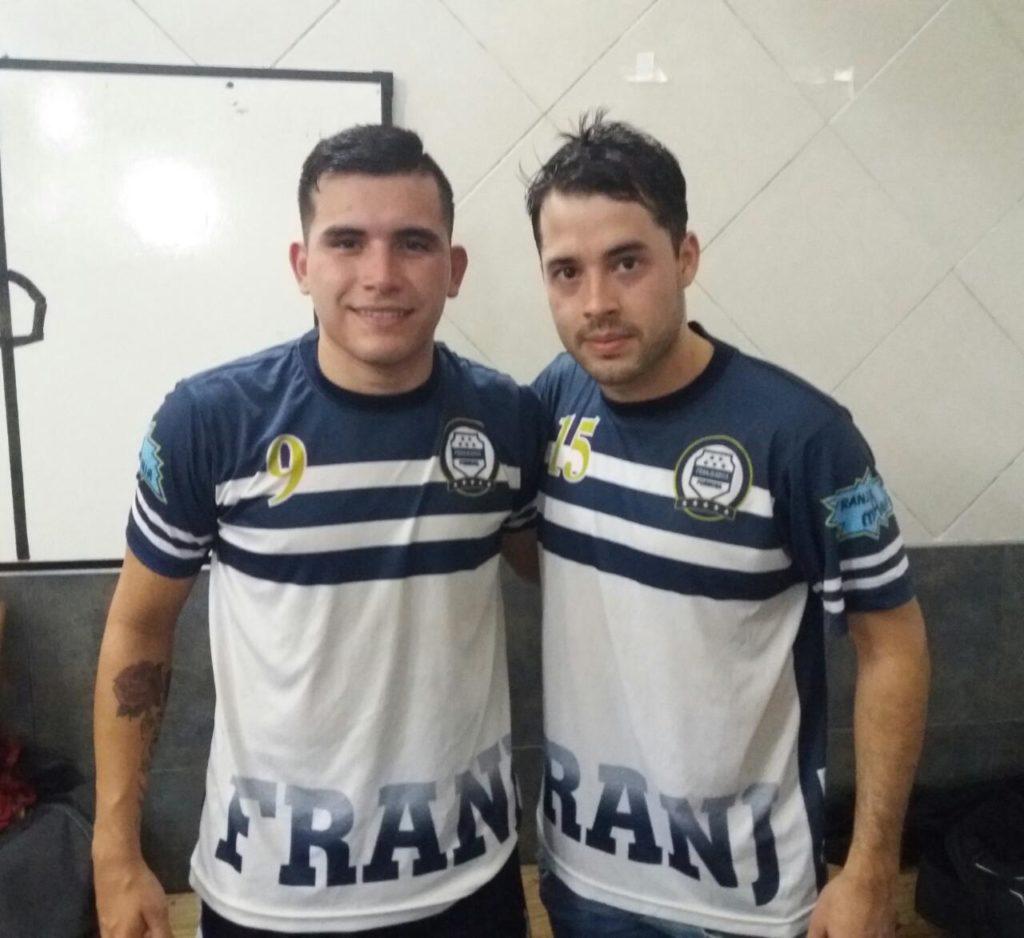 El pivot Nahuel Espinola con 2 goles y el ala Fabian Zanabria
