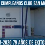 Feliz cumpleaños Club San Martin